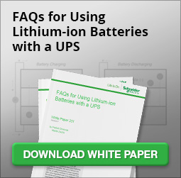 FAQs for Using Lithium-Ion Batteries with a UPS